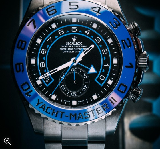 Black PVD Rolex Yacht-Master II