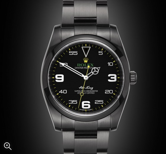 Rolex Air-King: Homage