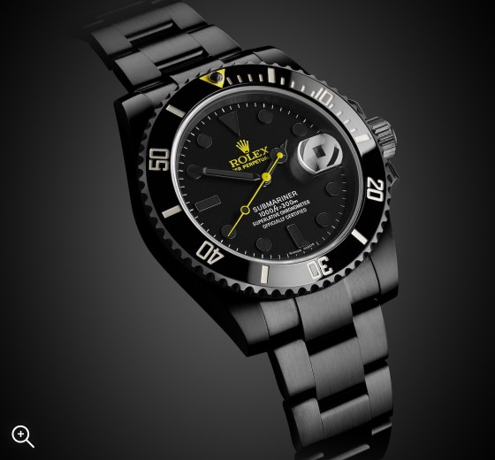 Titan Black Rolex Submariner Date Halo DLC Coating