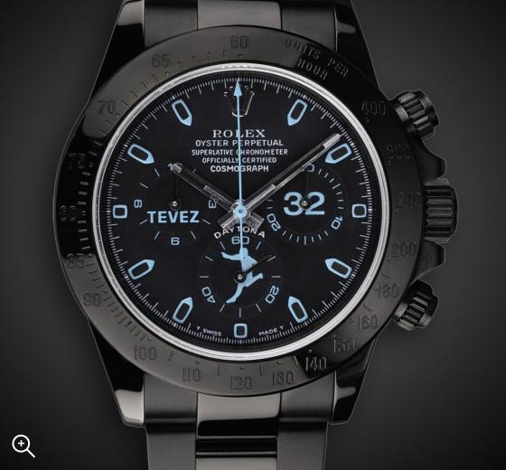 Custom DLC Rolex Daytona: Tevez 32