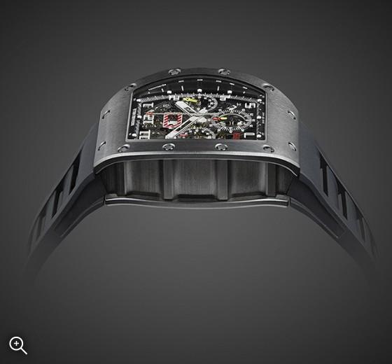 Black DLC Richard Mille RM 011 Nero