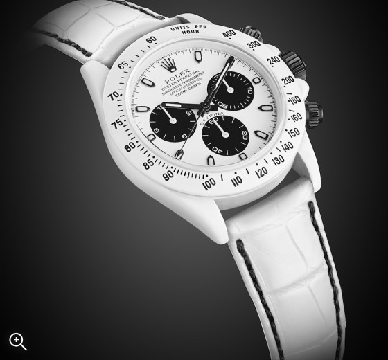 Rolex Daytona: Himalaya White TB Ceramic Partical Coating (CPC)