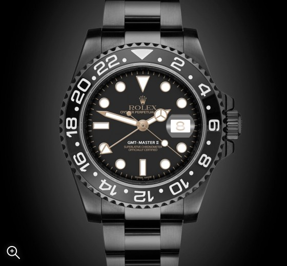 Rolex GMT-Master II Eclipse - TBlack DLC Coating