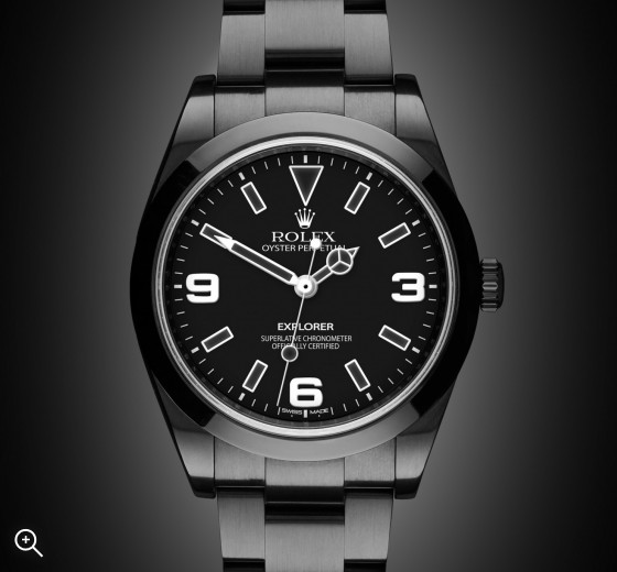 Rolex Explorer: Midnight