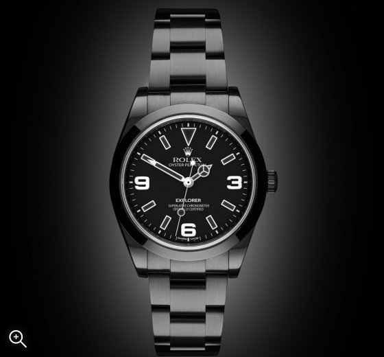 Rolex Explorer: Midnight