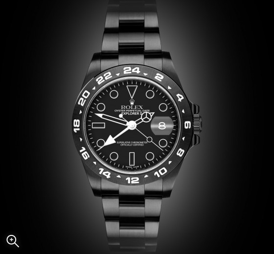 Rolex Explorer II: Midnight