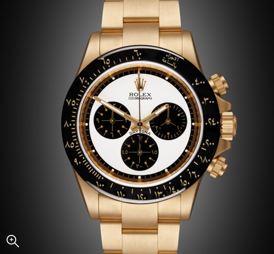 Rolex Daytona: Newman Oro - Arabic Edition