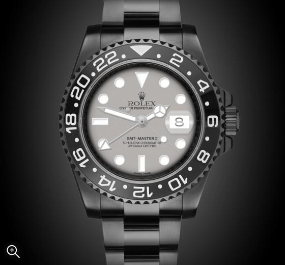 Rolex GMT-Master II: Graphite - TBlack DLC Coating