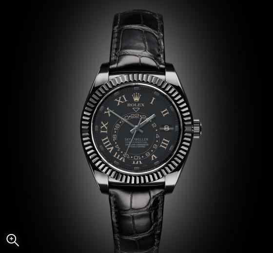 Rolex Sky Dweller: Compass
