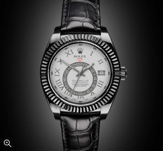 Rolex Sky Dweller: Gossamer