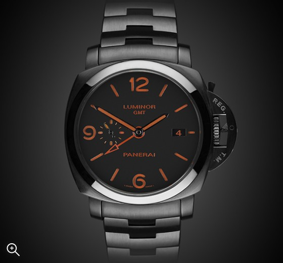 TITAN BLACK Panerai Clockwork Orange DLC Edition