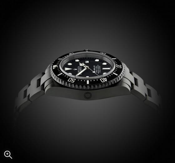 Titan Black PVC DLC Rolex Sea Dweller MK1