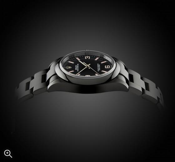 Titan Black PVC DLC Rolex Oyster Perpetual