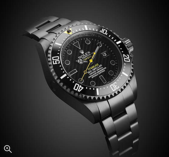 Rolex Deep Sea Hazard Titan Black