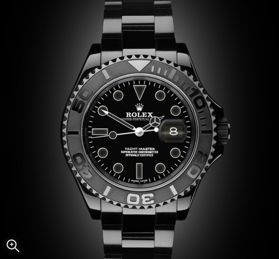 Rolex Yacht-Master I: Admiral - TBlack DLC Coating
