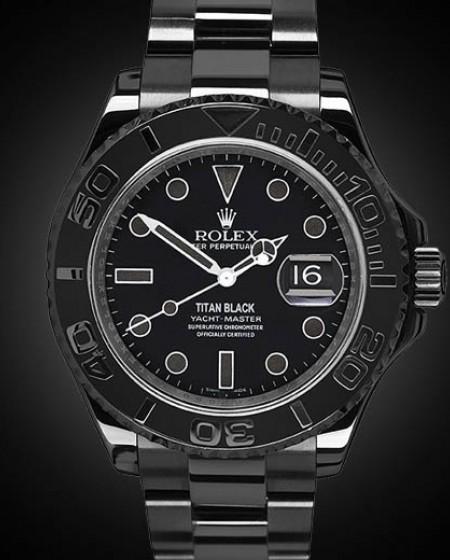 Black PVD Rolex Yacht-Master Admiral
