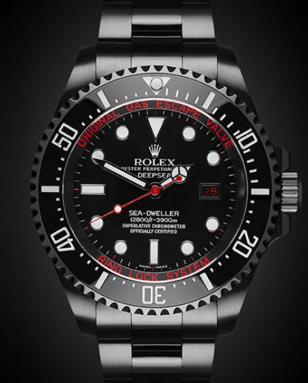 Rolex Deep Sea: Deep Red Titan Black DLC