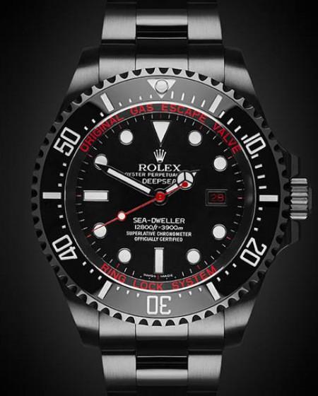 Rolex Deep Sea Titan Black Custom Rolex Deepsea Sea Dweller