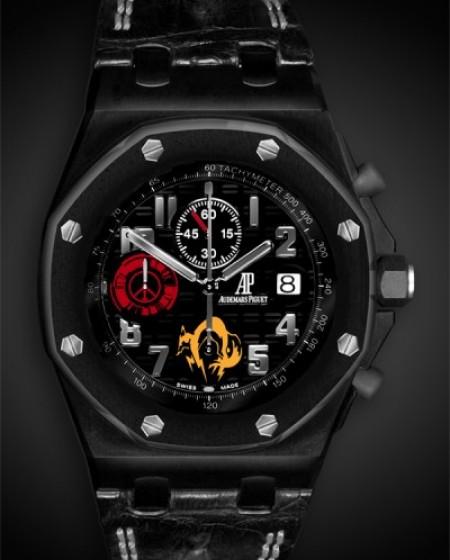 Titan Black PVD DLC Audemars Piguet Offshore