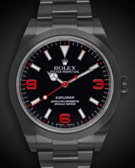 Rolex Explorer (Crush) DLC PVD BLACK ROLEX