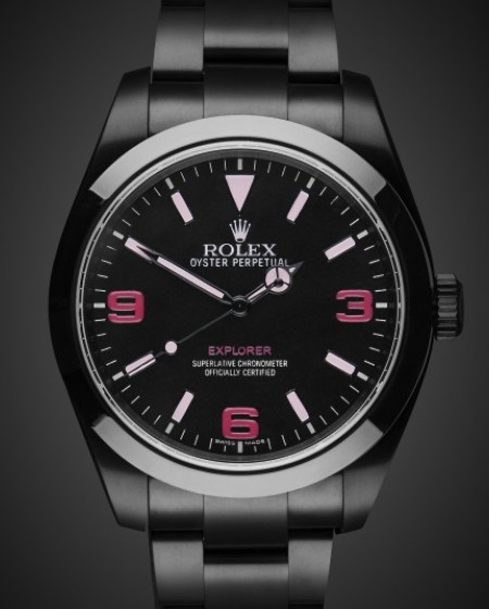 Rolex Datejust Ii Nero Titan Black