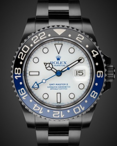 Titan Black DLC Coating Rolex GMT II Arctos