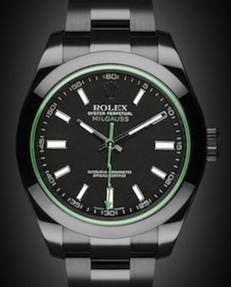 Rolex Milgauss: Envy - TBlack DLC Coating