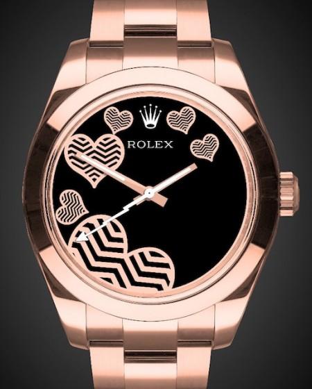 Rolex Milgauss: Rosé Oro - Rose Gold Coating