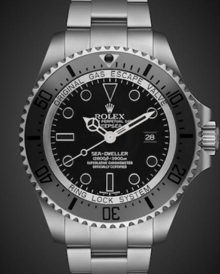 Rolex Deep Sea: Night Fury Titan Black SuperMatt Finish Stainless Steel