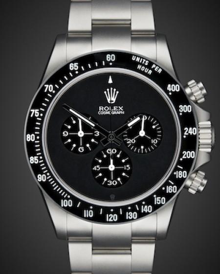 Rolex Daytona Chronograph Paul Newman Dial Black Sandblast Titan Black
