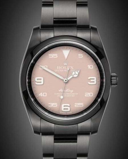 Rolex Air-King: Blush