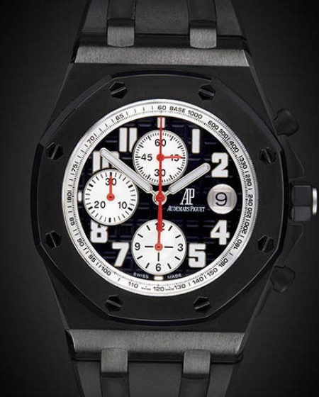 Titan Black Audemars Piguet Offshore Tour Auto