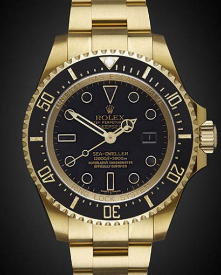 Titan Black Rolex Deep Sea: Gold DLC