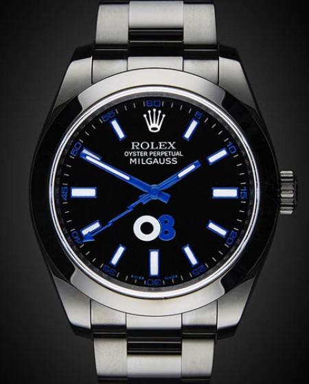 Titan Black DLC Rolex Milgauss: Oscar