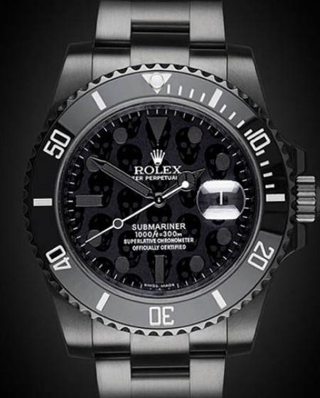 Titan Black DLC PVD Rolex Submariner Revenge