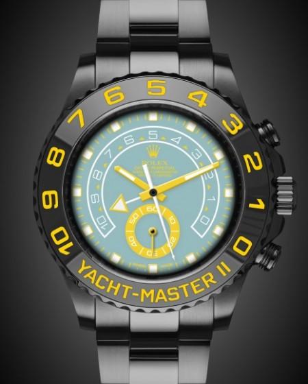 Rolex Yacht-Master II: Aqua