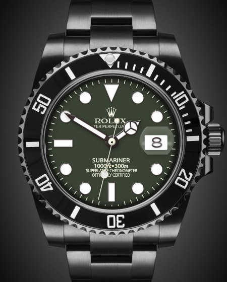 Rolex Submariner Date: Brunswick