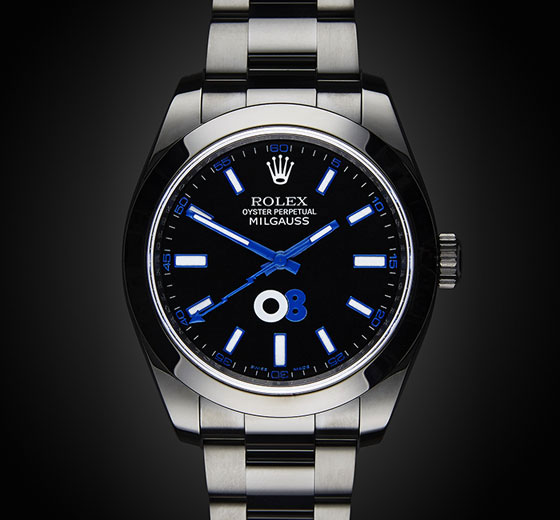 Rolex Milgauss Oscar Collaboration Titan Black