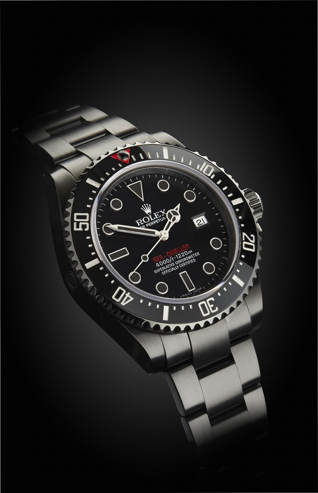 Rolex Sea Dweller Double Red Titan Black