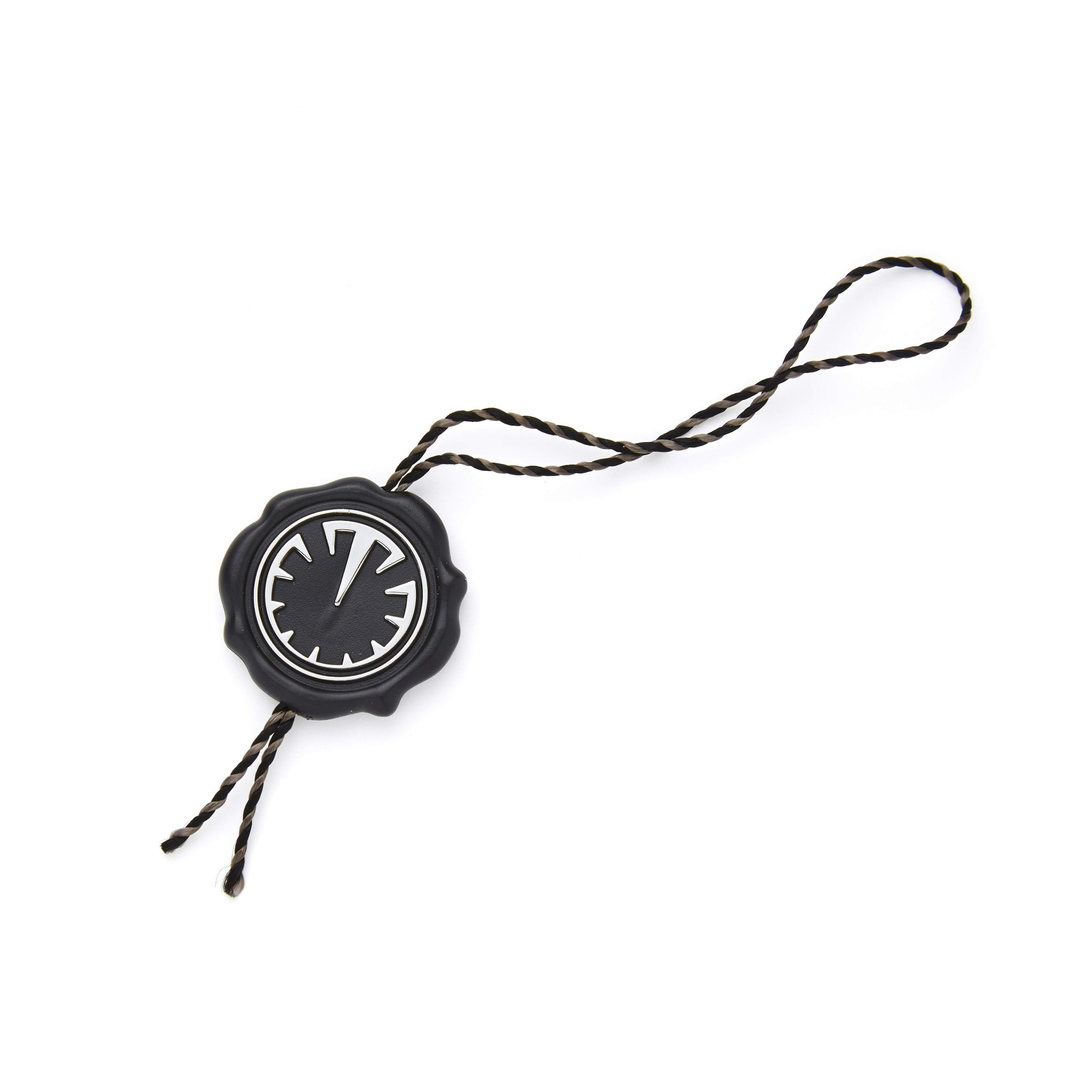 Titan Black Watch Hang Tag