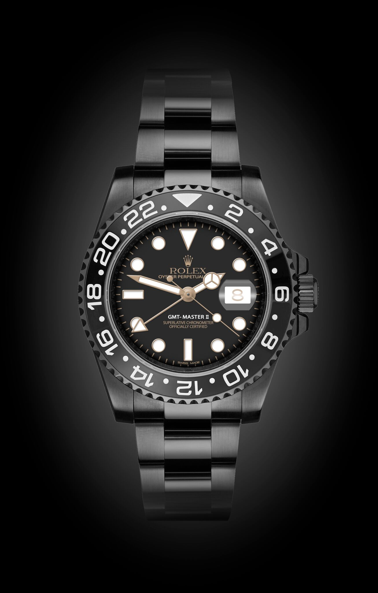 Rolex Gmt Master Ii Eclipse Titan Black