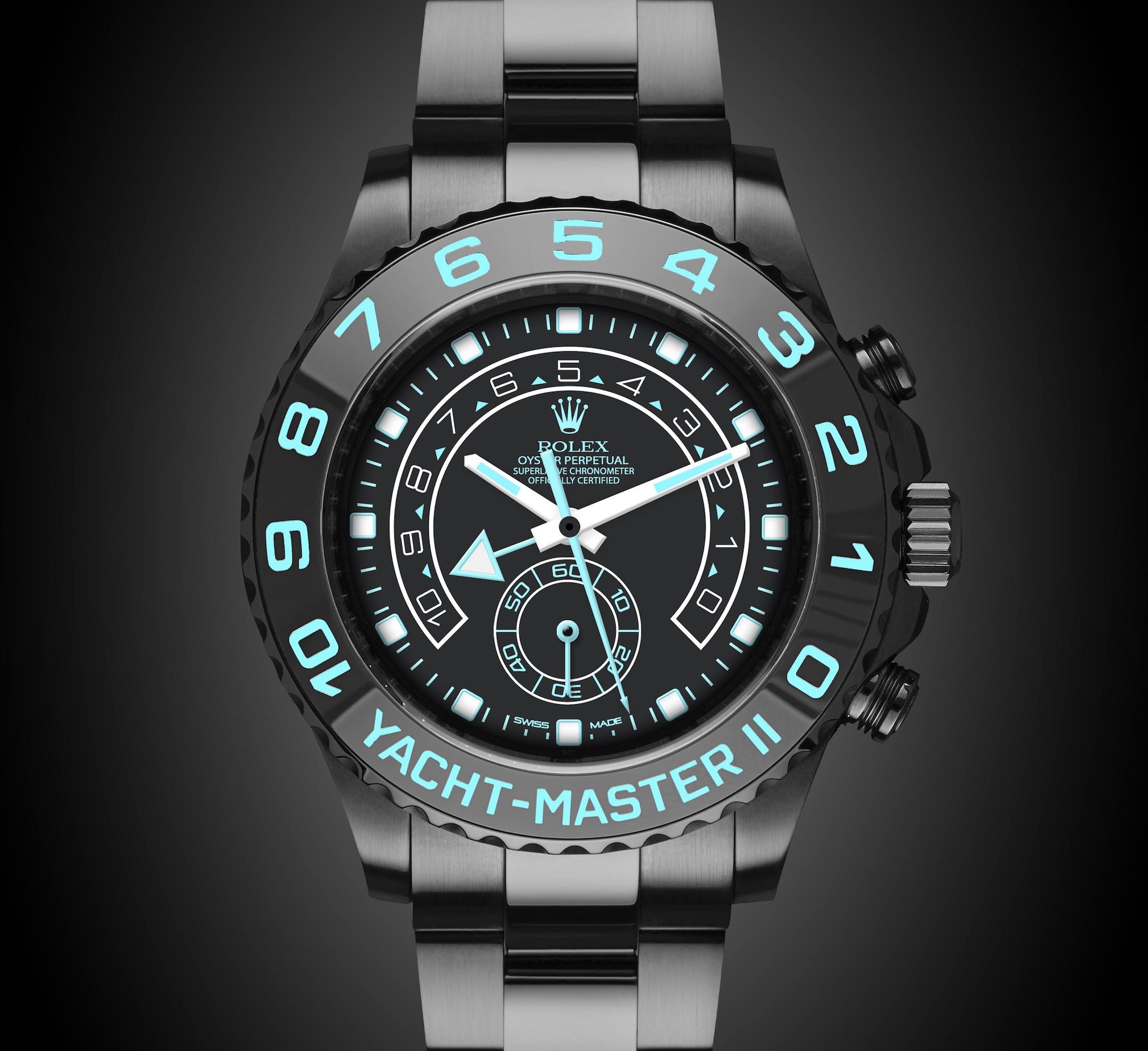 Rolex Yacht Master Ii Oceania Titan Black