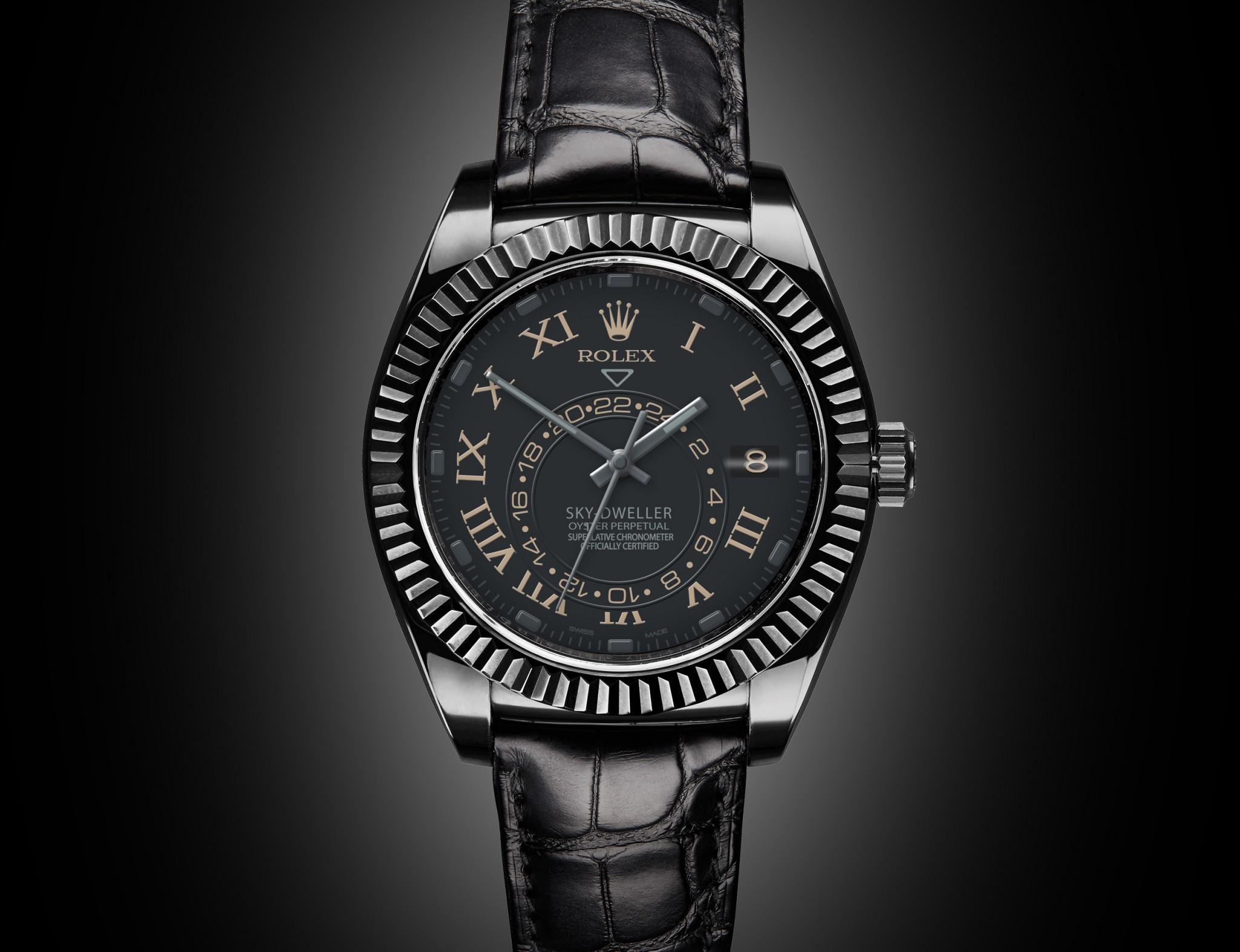Rolex Sky Dweller Compass Titan Black