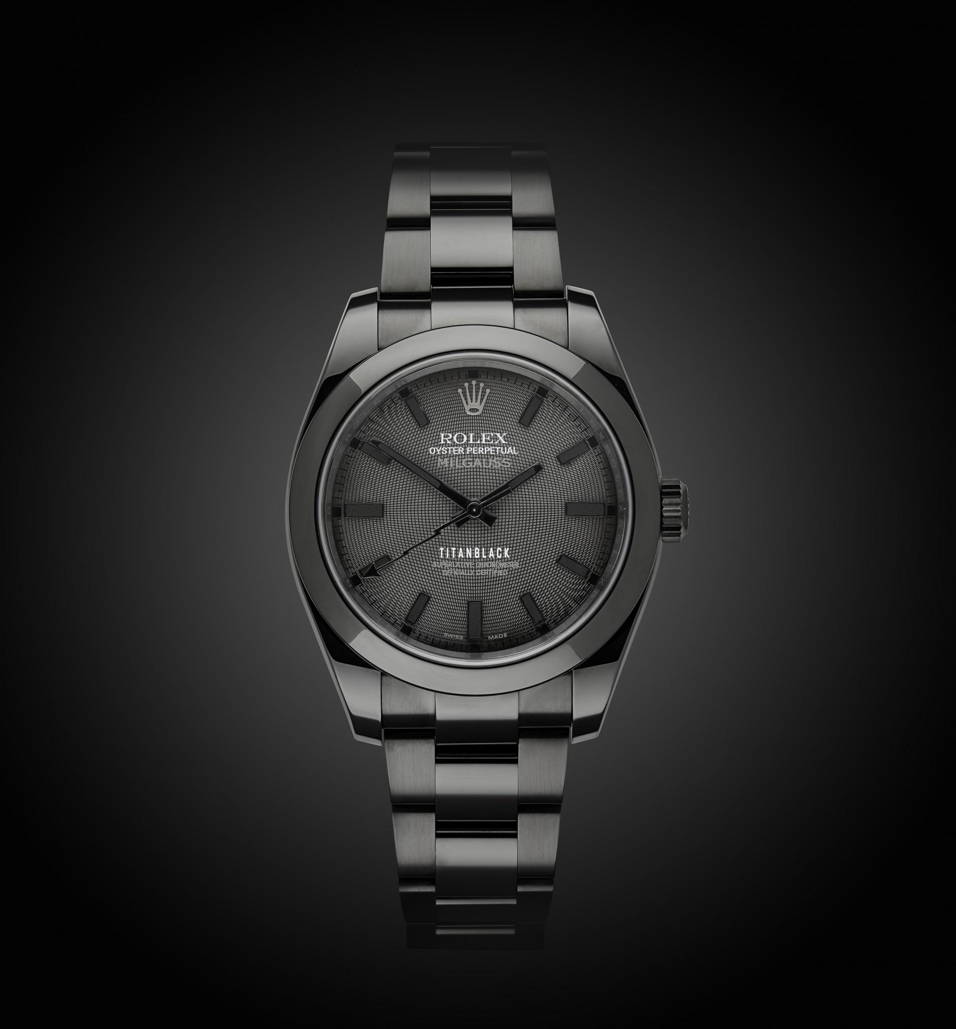 Rolex Milgauss Gravity Titan Black