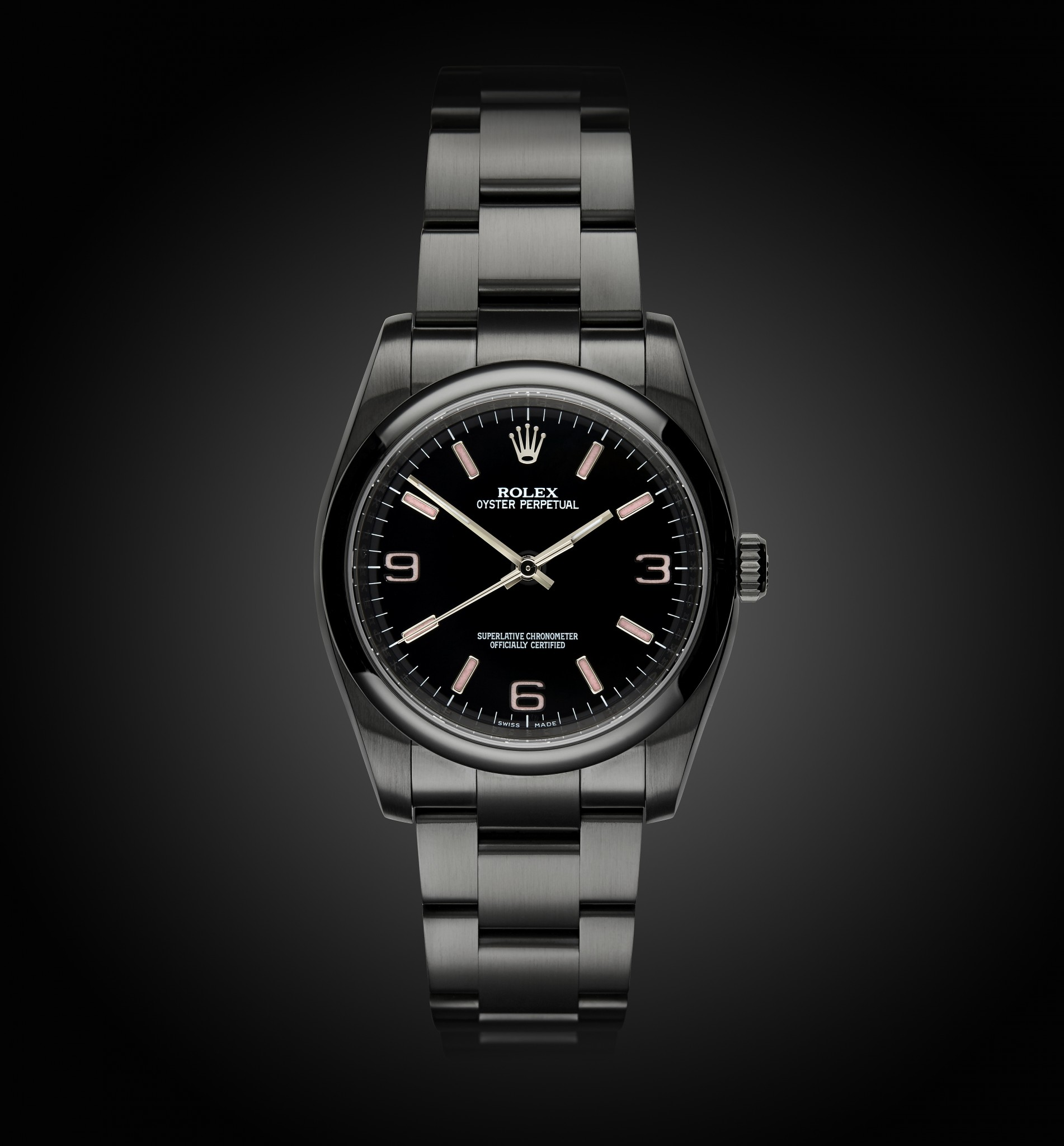Rolex Oyster Perpetual Candy Pink Titan Black